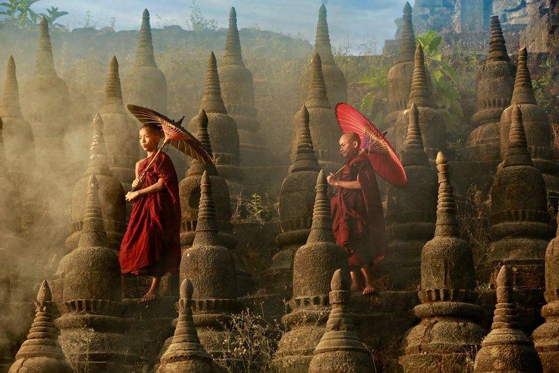 đền chùa ở Myanmar