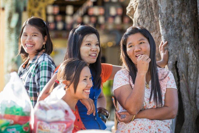 Người dân Myanmar hiền hòa