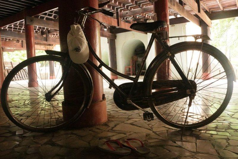 Đạp xe ở Mandalay Myanmar
