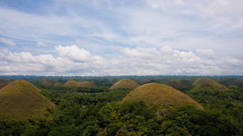 Những ngọn đồi Sô-cô-la ở tỉnh Bohol