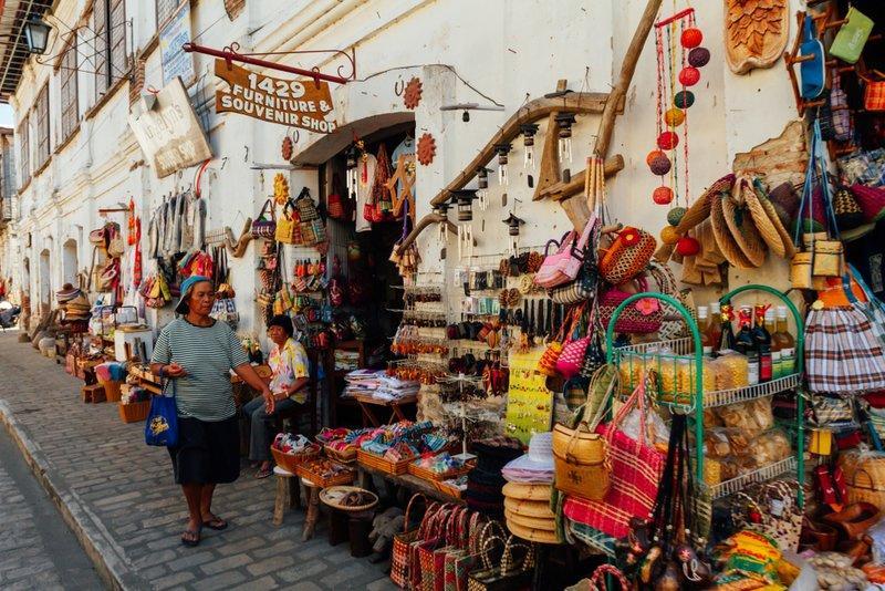 Chợ địa phương ở Vigan