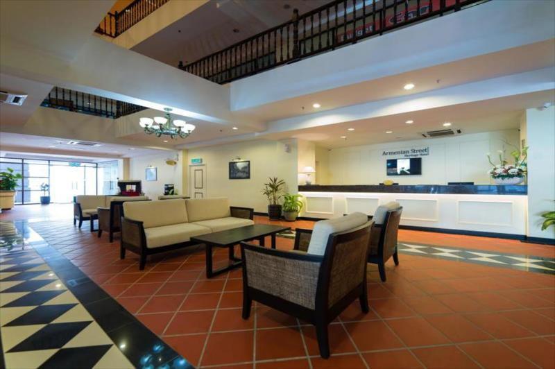 Khách sạn giá rẻ ở Penang - Armenian Street Heritage Hotel