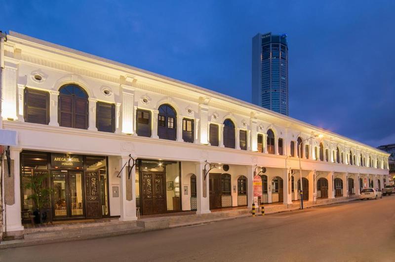 Khách sạn giá rẻ ở Penang - Areca Hotel Penang