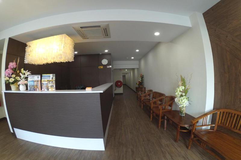 Khách sạn giá rẻ ở Penang - Link Hotel