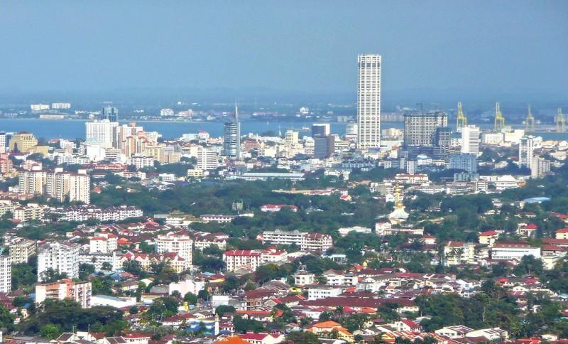 Penang Komtar, toà nhà cao nhất Penang