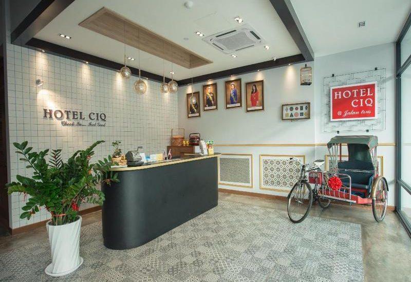 Khách sạn giá rẻ ở Johor Bahru - Hotel CIQ @ Jalan Trus