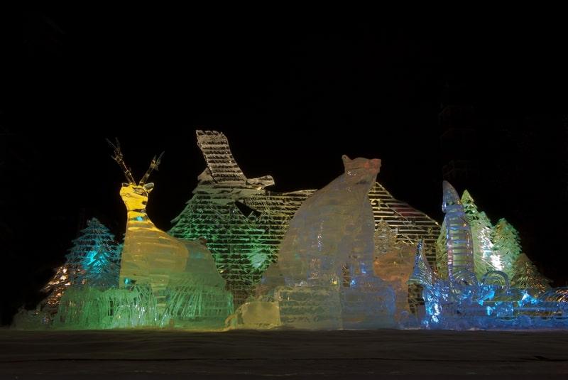 Lễ hội tuyết ở Saporo
