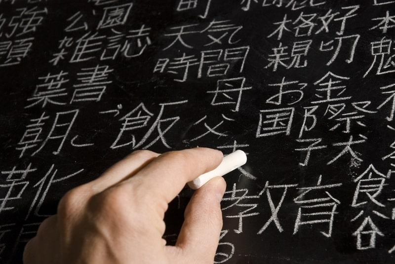 Chữ cái Kanji Nhật Bản