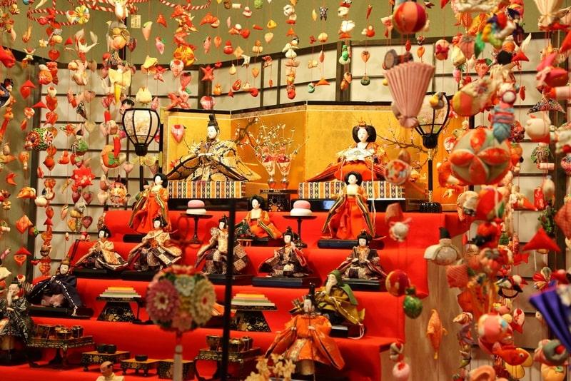 lễ hội Nhật Bản Hina Matsuri