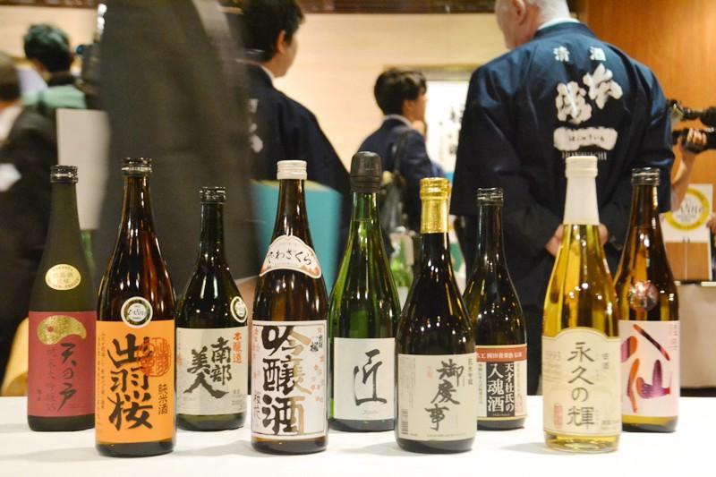 Rượu sake là quốc tửu của nước Nhật Bản