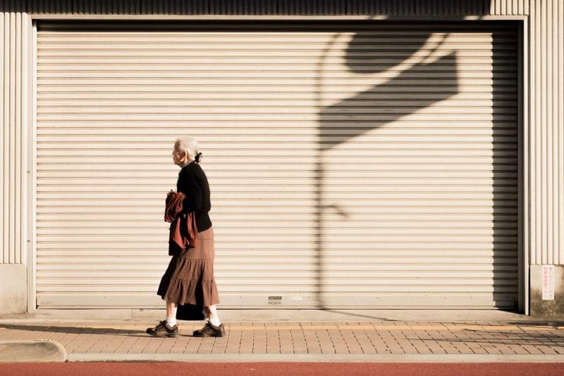 Dân số Nhật Bản đang già hóa