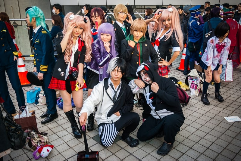 Văn hóa Cosplay của giới trẻ Nhật Bản