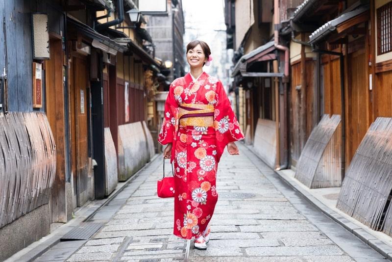 Kimono trang phục truyền thống của Nhật Bản