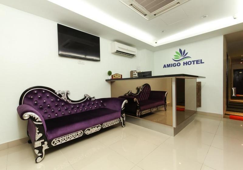 Khách sạn giá rẻ ở Kuala Lumpur - Amigo Hotel