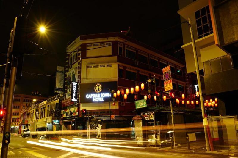 Khách sạn giá rẻ ở Kuala Lumpur - Capsule Town Hotel