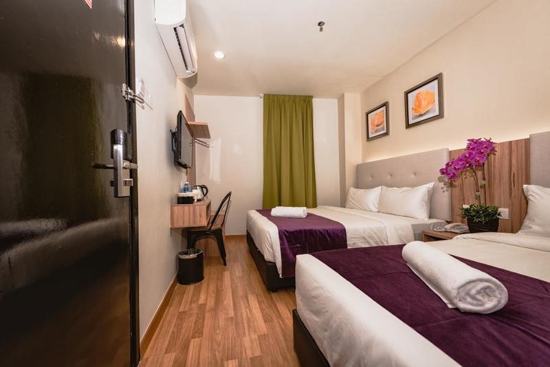 Khách sạn giá rẻ ở Kuala Lumpur - Big M Hotel