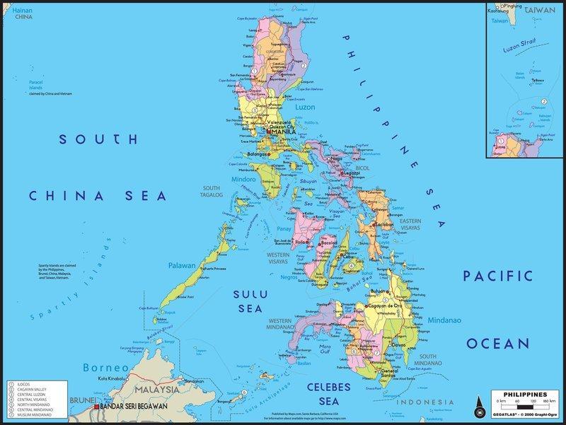 Bản đồ Philippines
