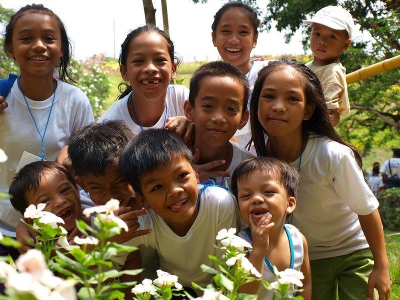 Con người Philippines thân thiện hay cười