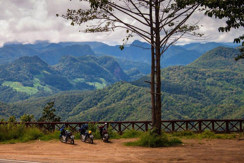Mae Hong Son Loop Thái Lan