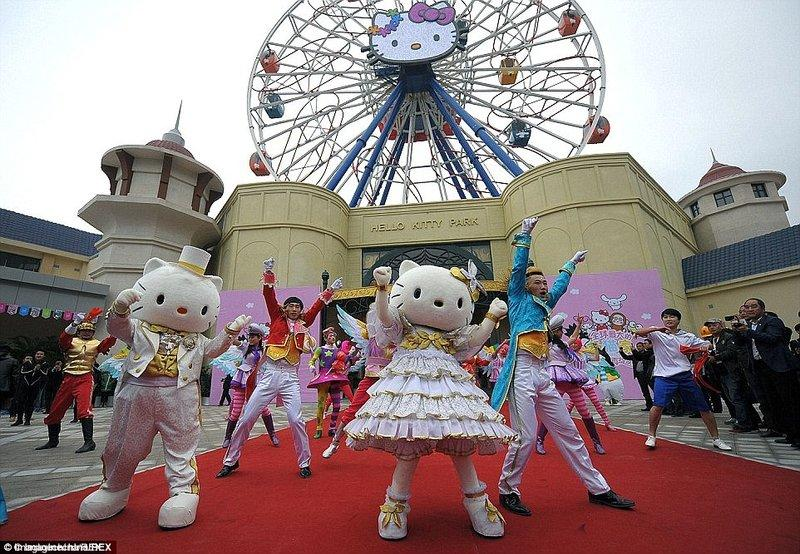 Công viên Sanrio Hello Kitty