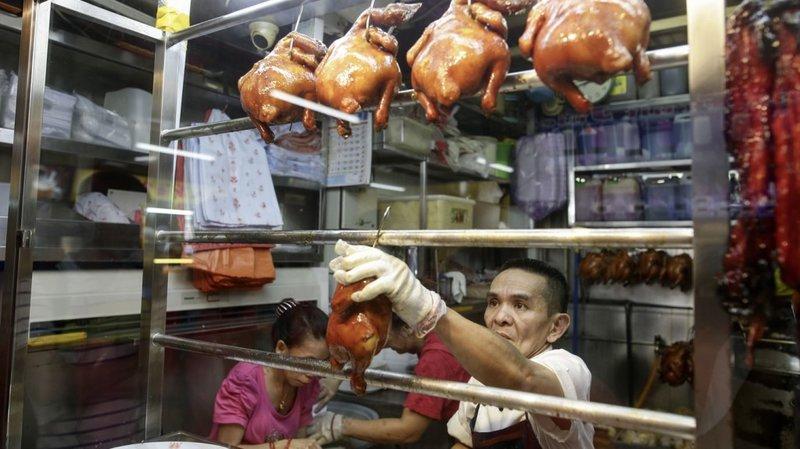 Hong Kong Soya Sauce Chicken Rice & Noodle