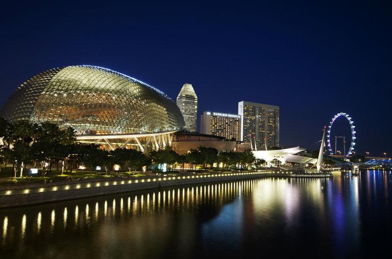 Nhà hát sầu riêng Esplanade Singapore