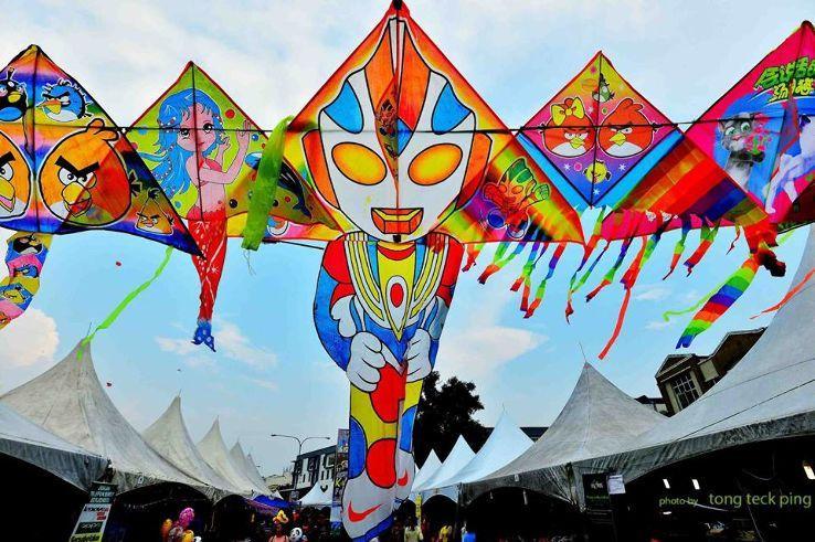 Lễ hội lớn ở Đông Nam Á - Lễ hội thả diều quốc tế Sarawak