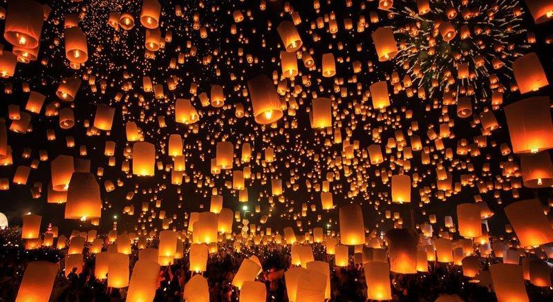 Lễ hội lớn ở Đông Nam Á - Lễ hội Loy Krathong