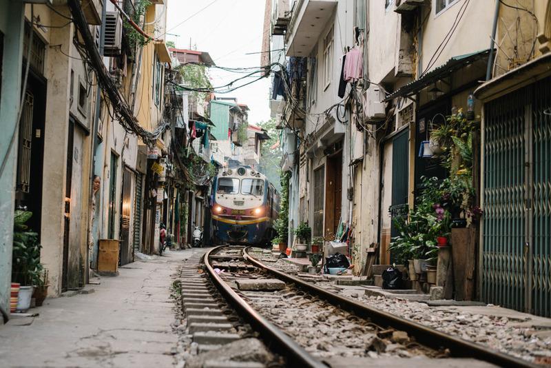 Đường ray Hà Nội