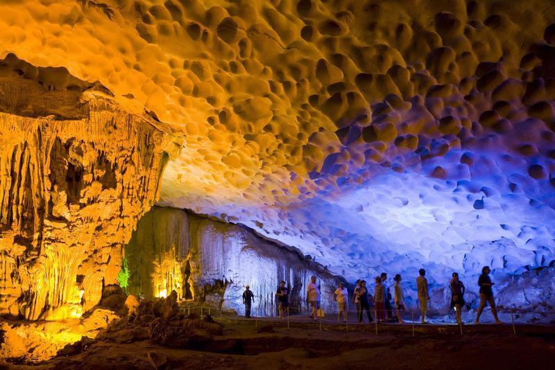 Những hang động tuyệt đẹp
