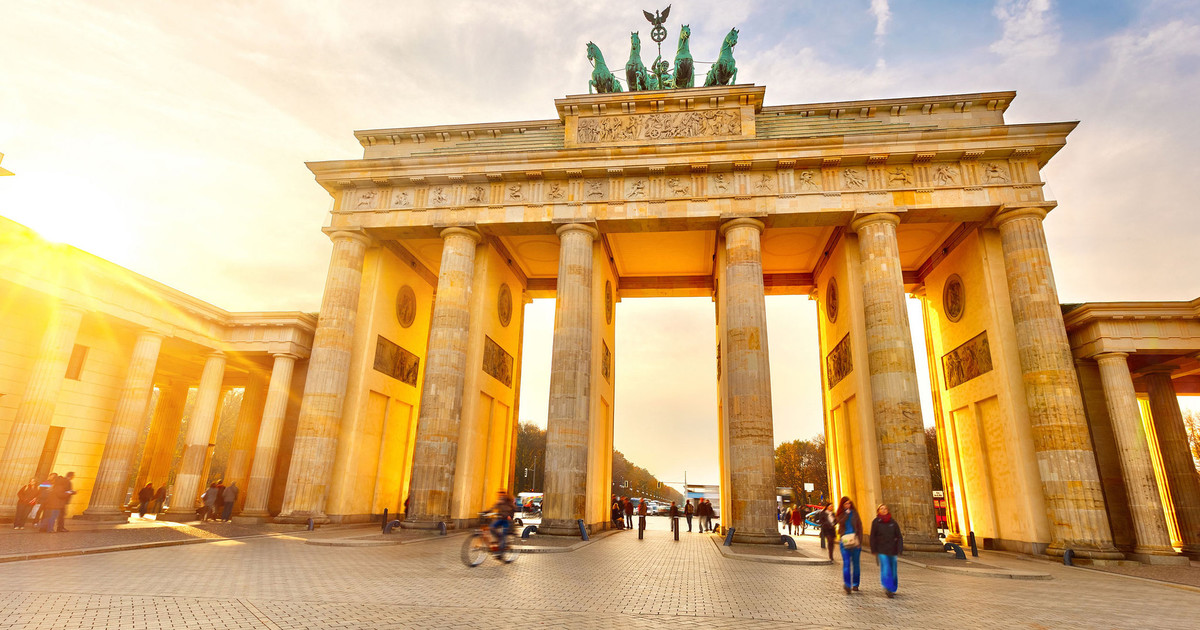 Dạo quanh Cổng Brandenburg, Berlin