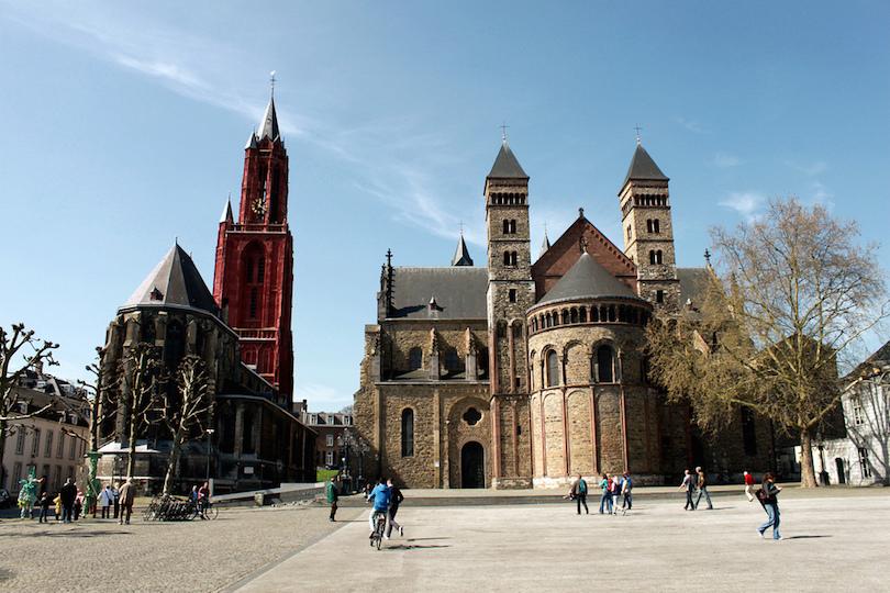 Quảng trường Maastricht Vrijthof