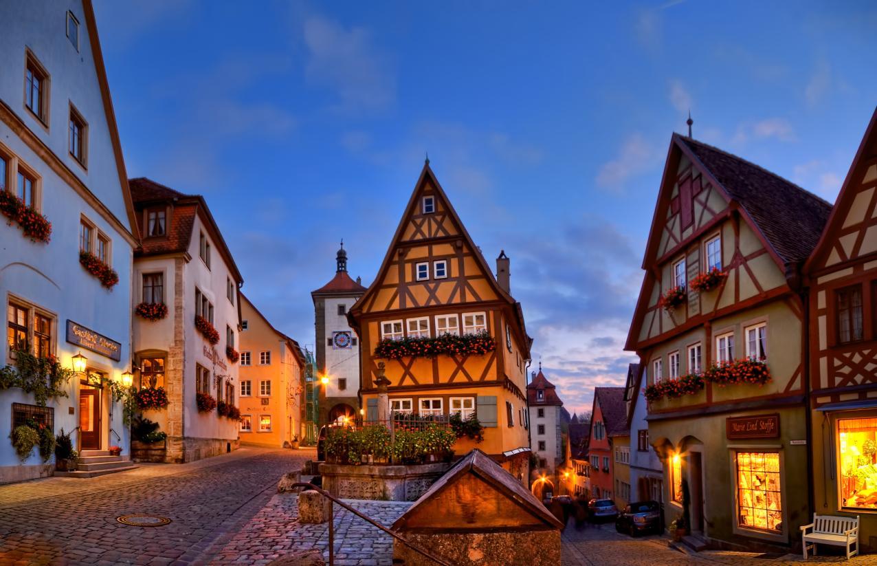 Mua khi du lịch Đức
