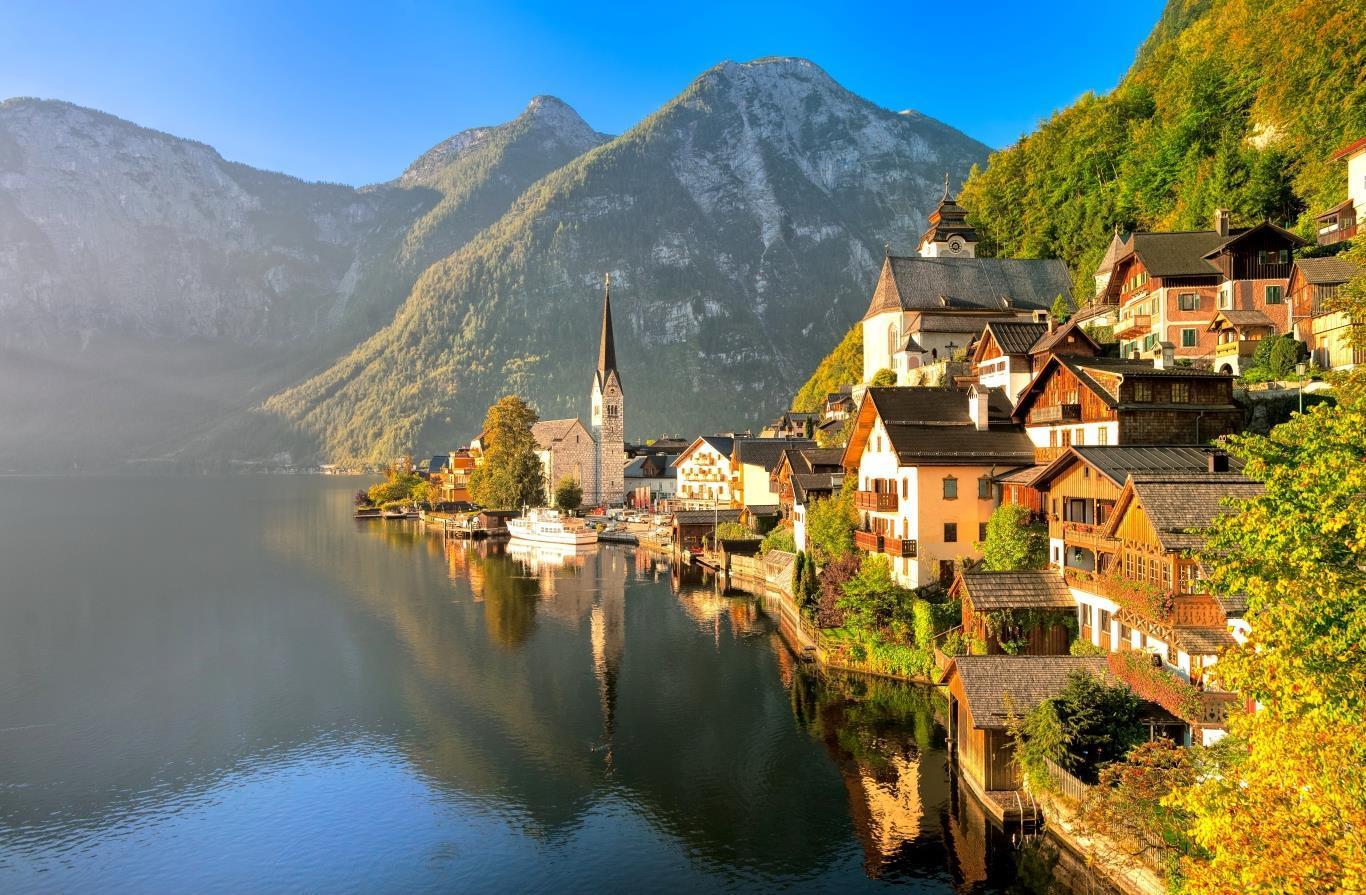 5 địa điểm du lịch Áo khám phá vẻ đẹp Châu Âu cổ kính