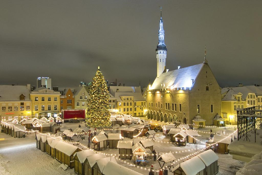 Tallinn địa điểm du lịch dịp giáng sinh