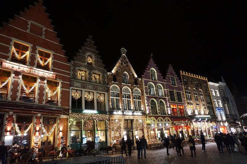 Bruges địa điểm du lịch dịp giáng sinh