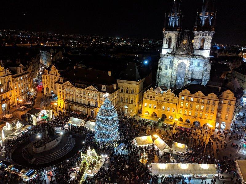 Prague địa điểm du lịch dịp giáng sinh