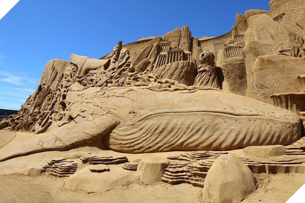 Lễ hội điêu khắc cát ở Đan Mạch