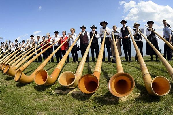 Lễ hội kèn Alphorn