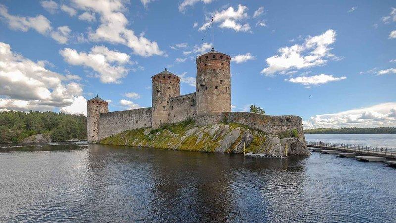 Lâu đài Olavinlinna - địa điểm du lịch Phần Lan