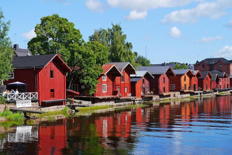 Porvoo - địa điểm du lịch Phần Lan