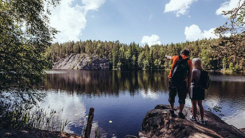 Công viên quốc gia Nuuksio - địa điểm du lịch Phần Lan