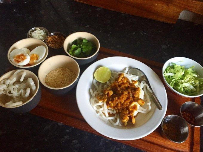 Mỳ Nangyi Thoke