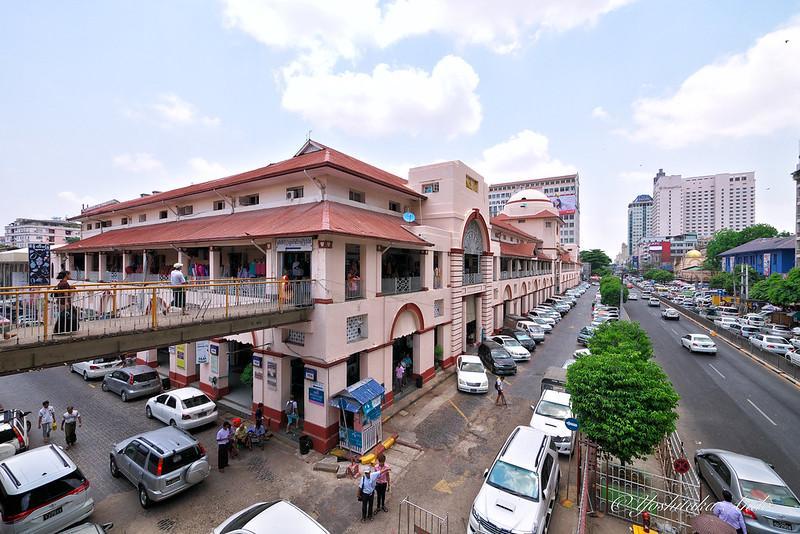 Các khu chợ ở Yangon