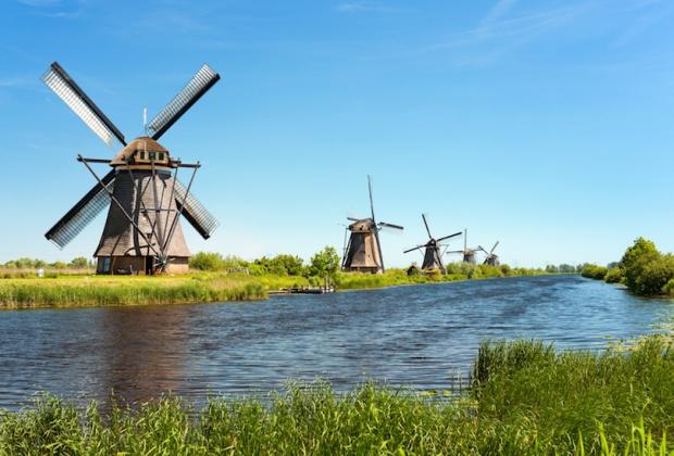 đi đâu ở Hà Lan - The Old Windmills of Kinderdijk
