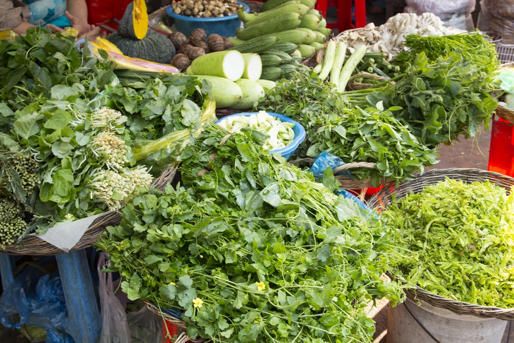 chơi gì ở Sihanoukville - Chợ Phsar Leu