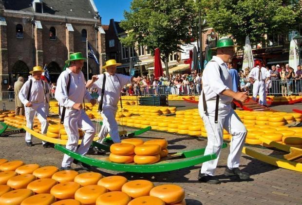đi đâu ở Hà Lan - Alkmaar Cheese Market