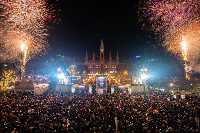 Lễ đón năm mới ở Áo