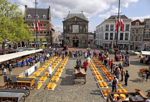 đi đâu ở Hà Lan - Gouda