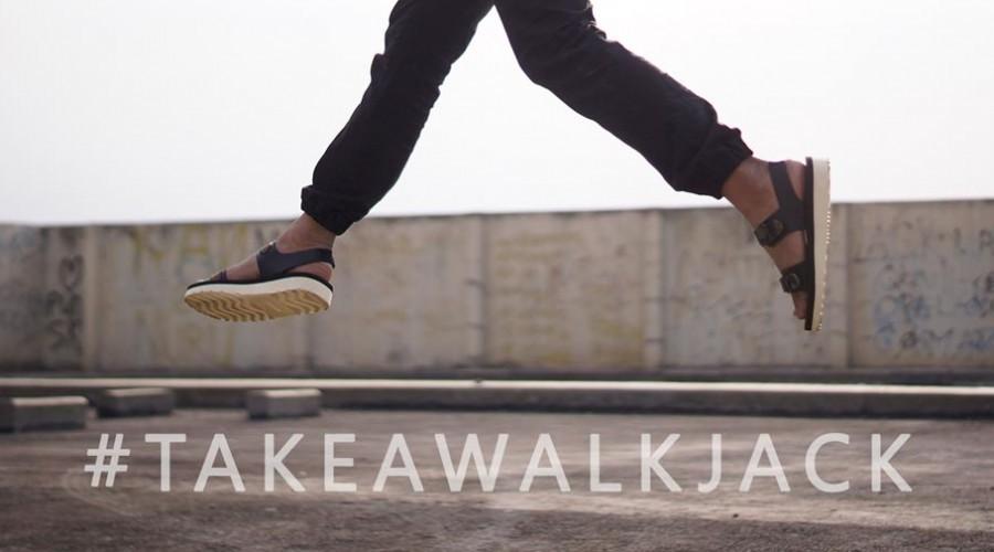 #TAKEAWALKJACK Hashtag Project